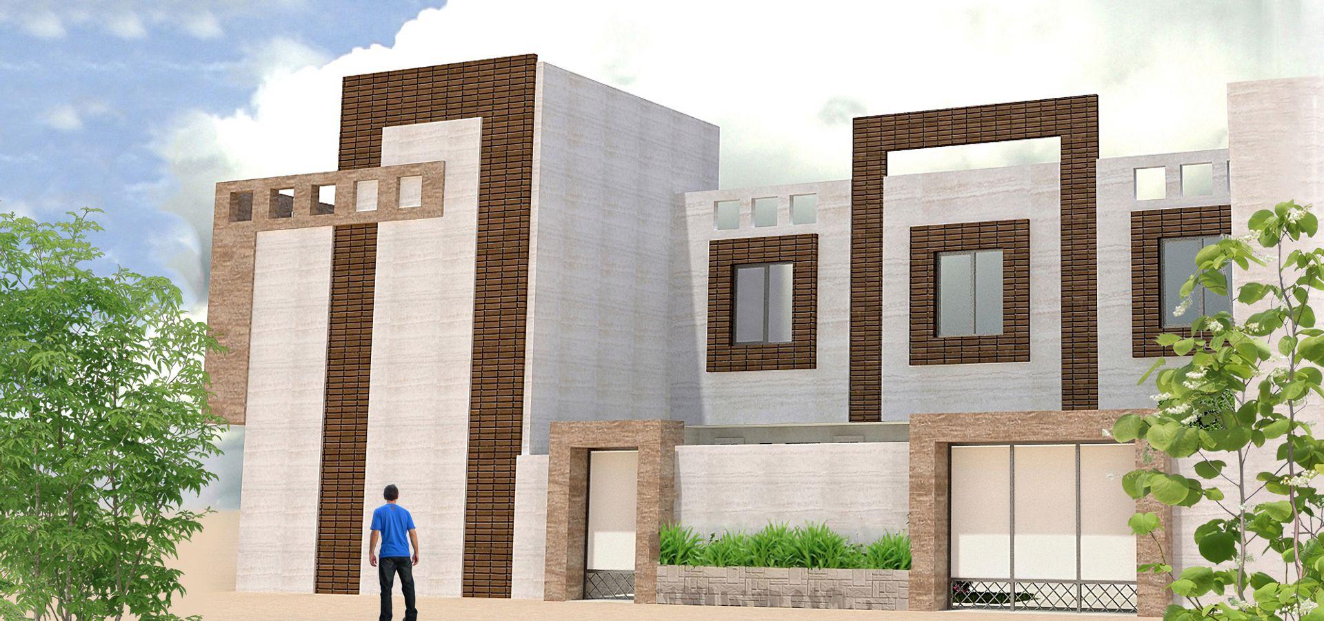 نمای ساختمان دوبلکس