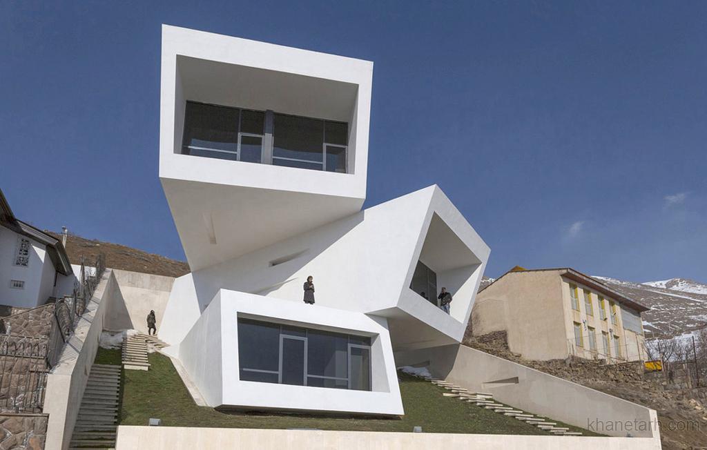 نمای ساختمان ویلایی