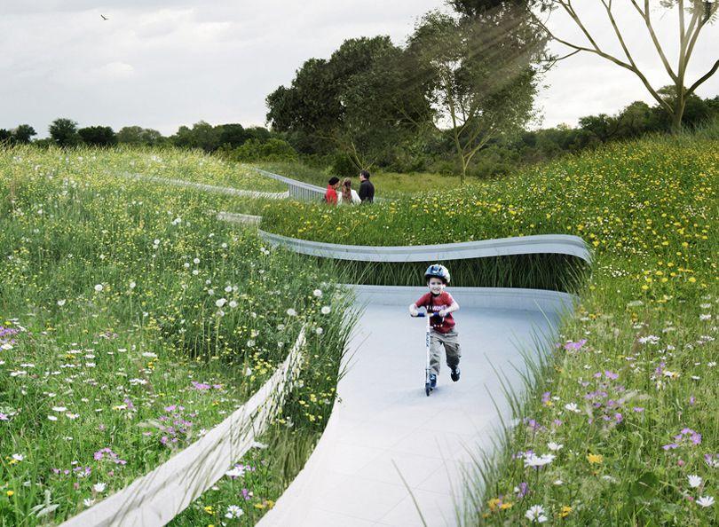 طراحی فضای سبز شهری