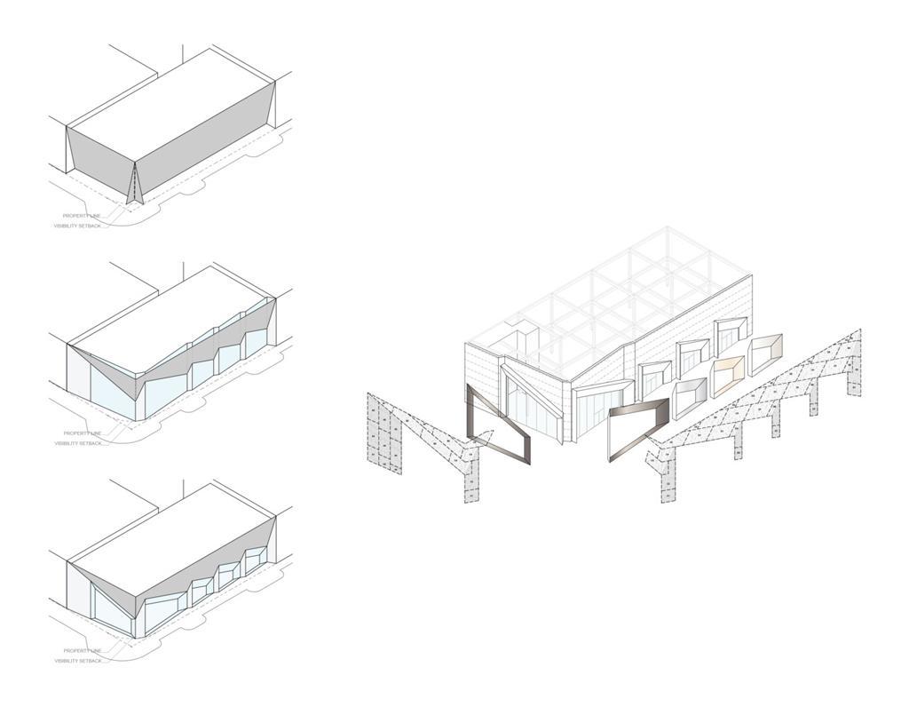 طراحی نمای مغازه
