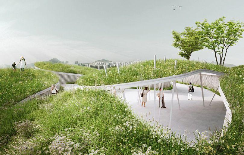 طراحی فضای سبز و خلاقانه در چین