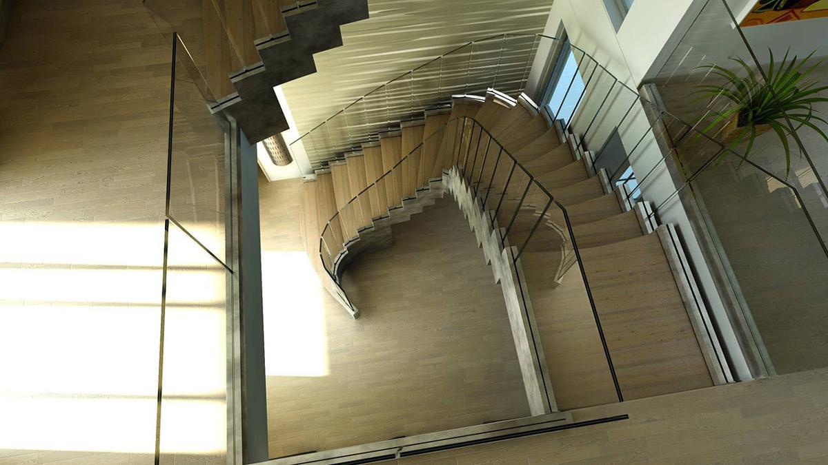 مدل پله دوبلکس