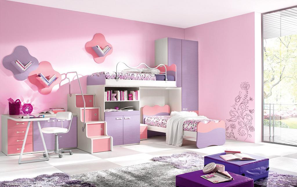 اتاق کودک دختر