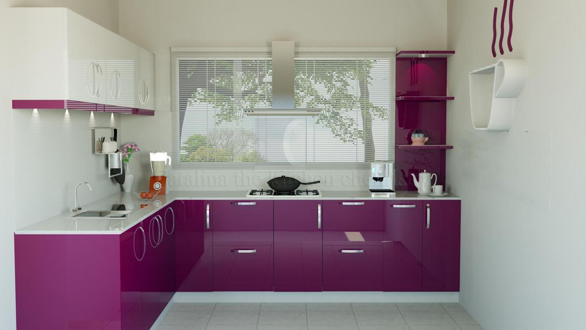 15 for Purple kitchen wallpaper