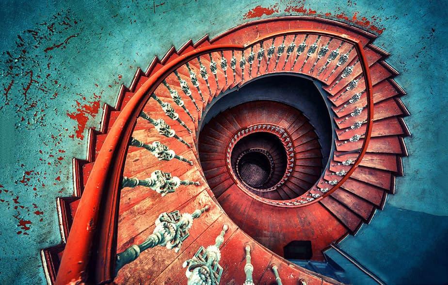 راه پله گرد