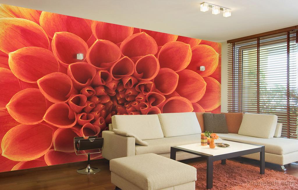 طراحی داخلی منزل با پوستر دیواری
