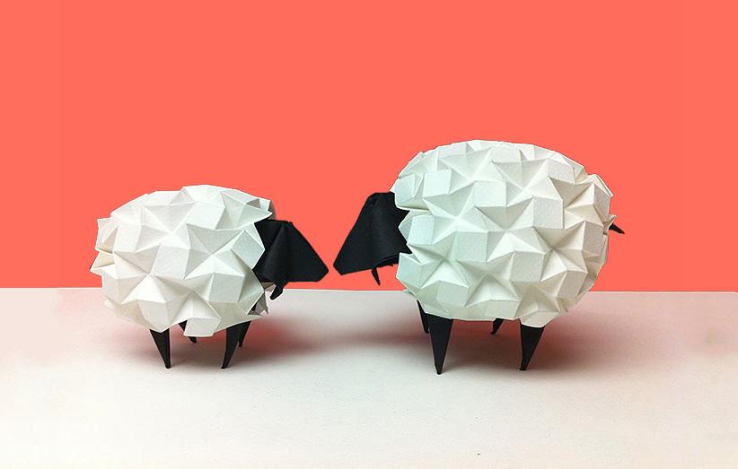 دکوری اوریگامی