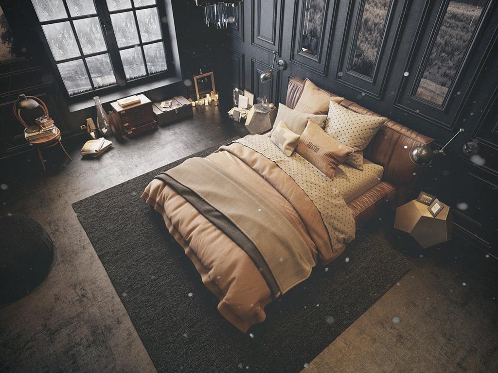دیزاین اتاق خواب کلاسیک