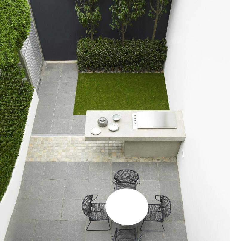 محوطه سازی حیاط کوچک