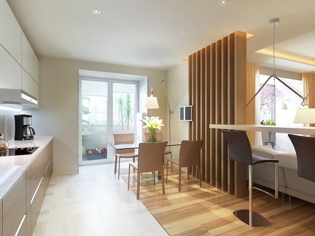 طراحی نورپردازی منزل پارکت