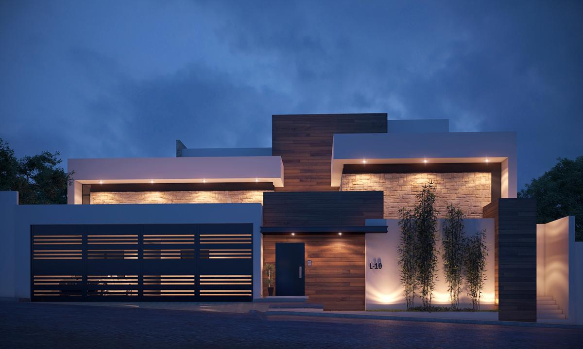 نمای ساختمان مسکونی