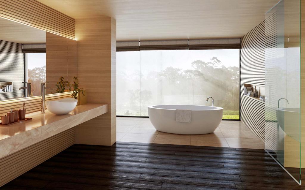 عکس حمام - مدرن