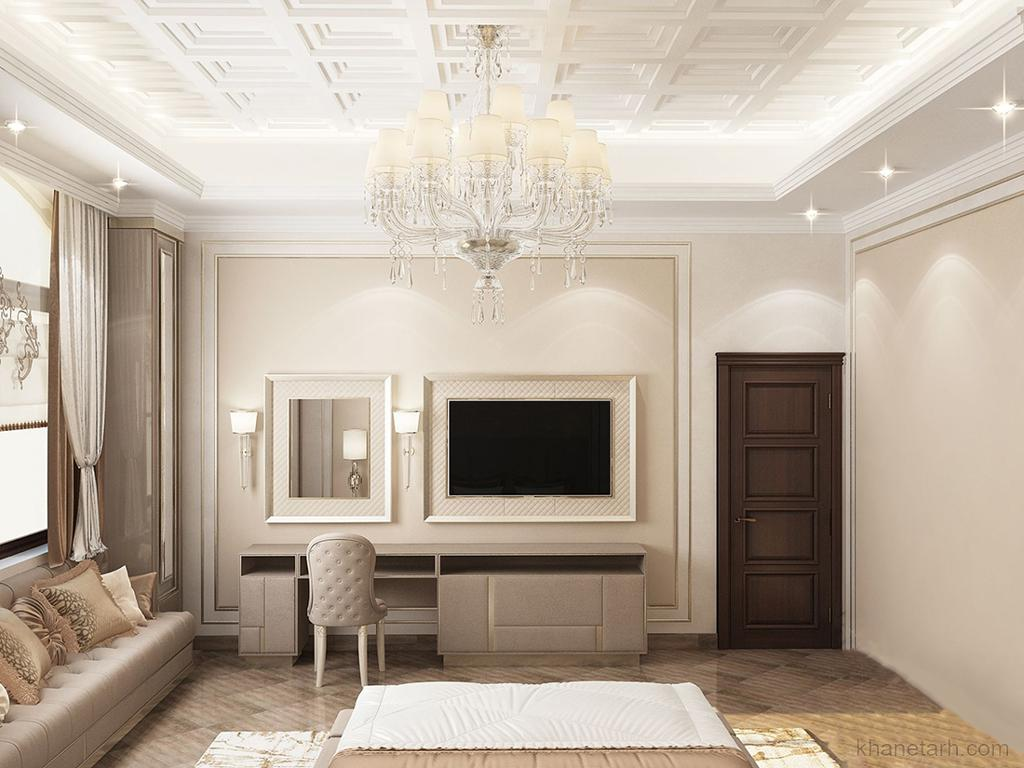 اتاق خواب کلاسیک