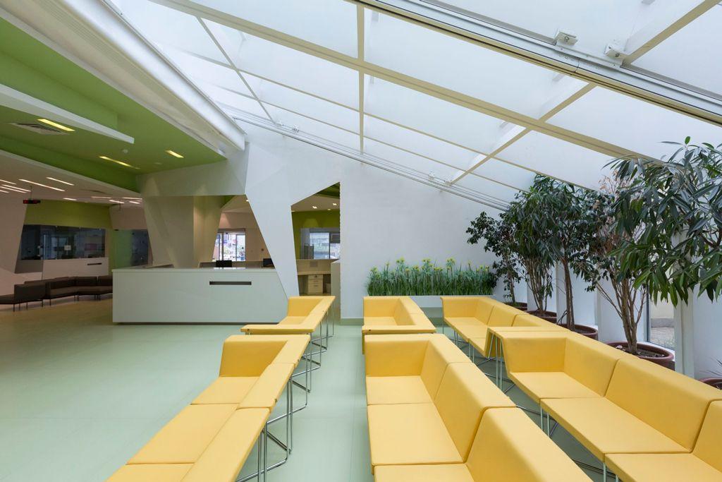 طراحی فضای سبز بیمارستان