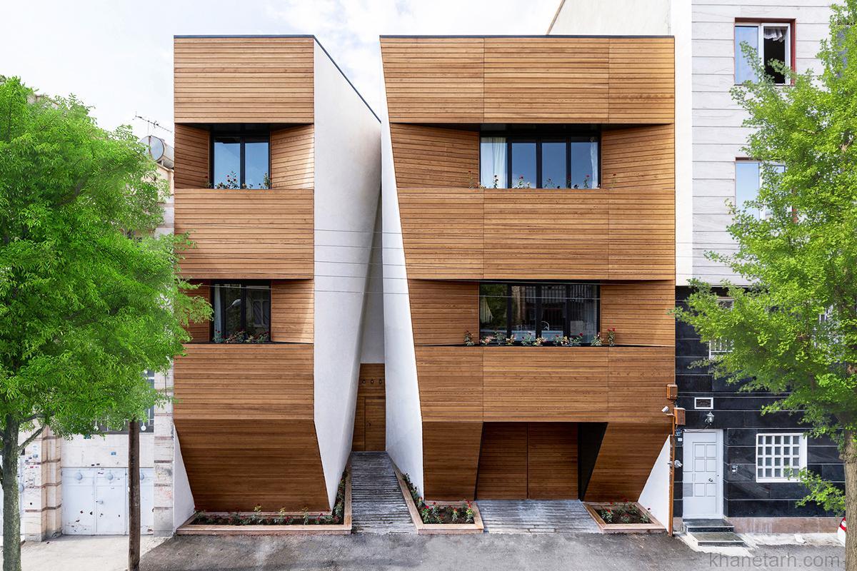 نمای ساختمان یک طبقه