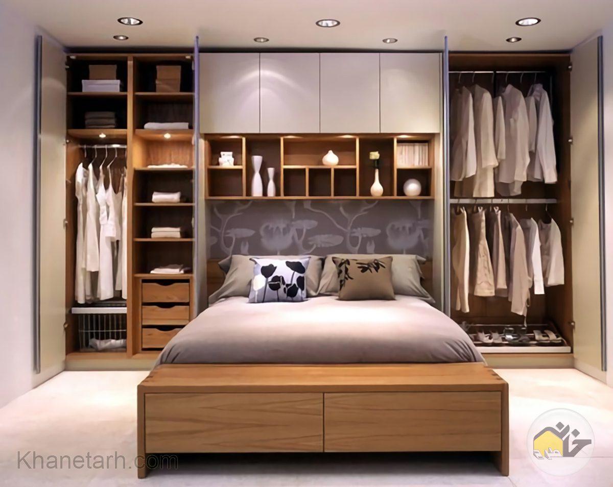 25 ایده ، جدیدترین مدل کمد دیواری اتاق خواب خانه طرح