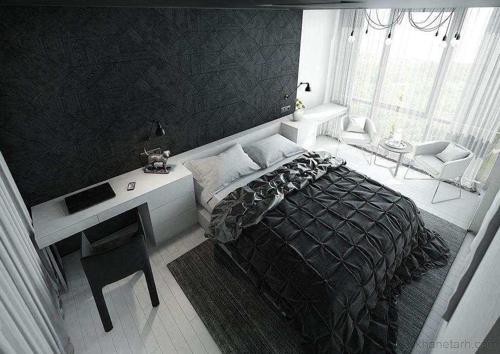 رنگ اتاق خواب بزرگسال