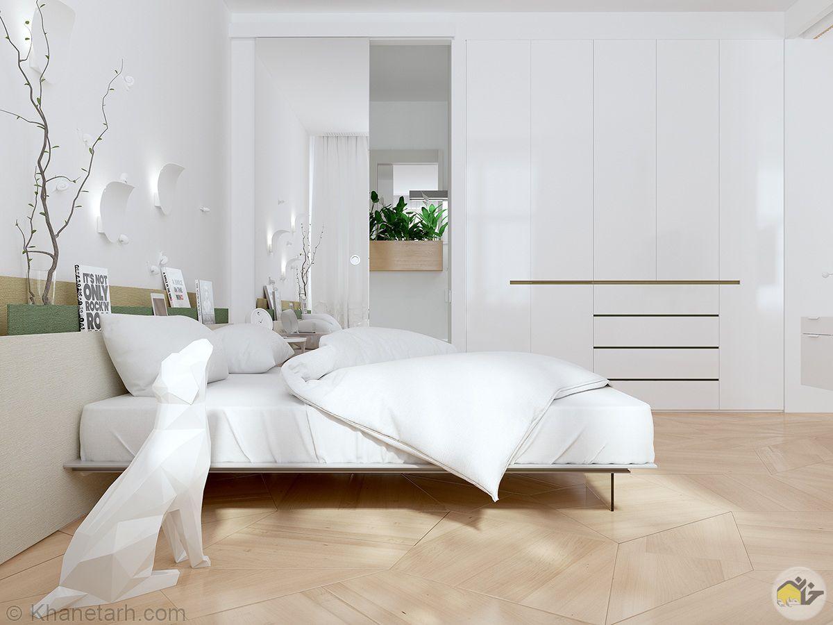 اتاق خواب ساده