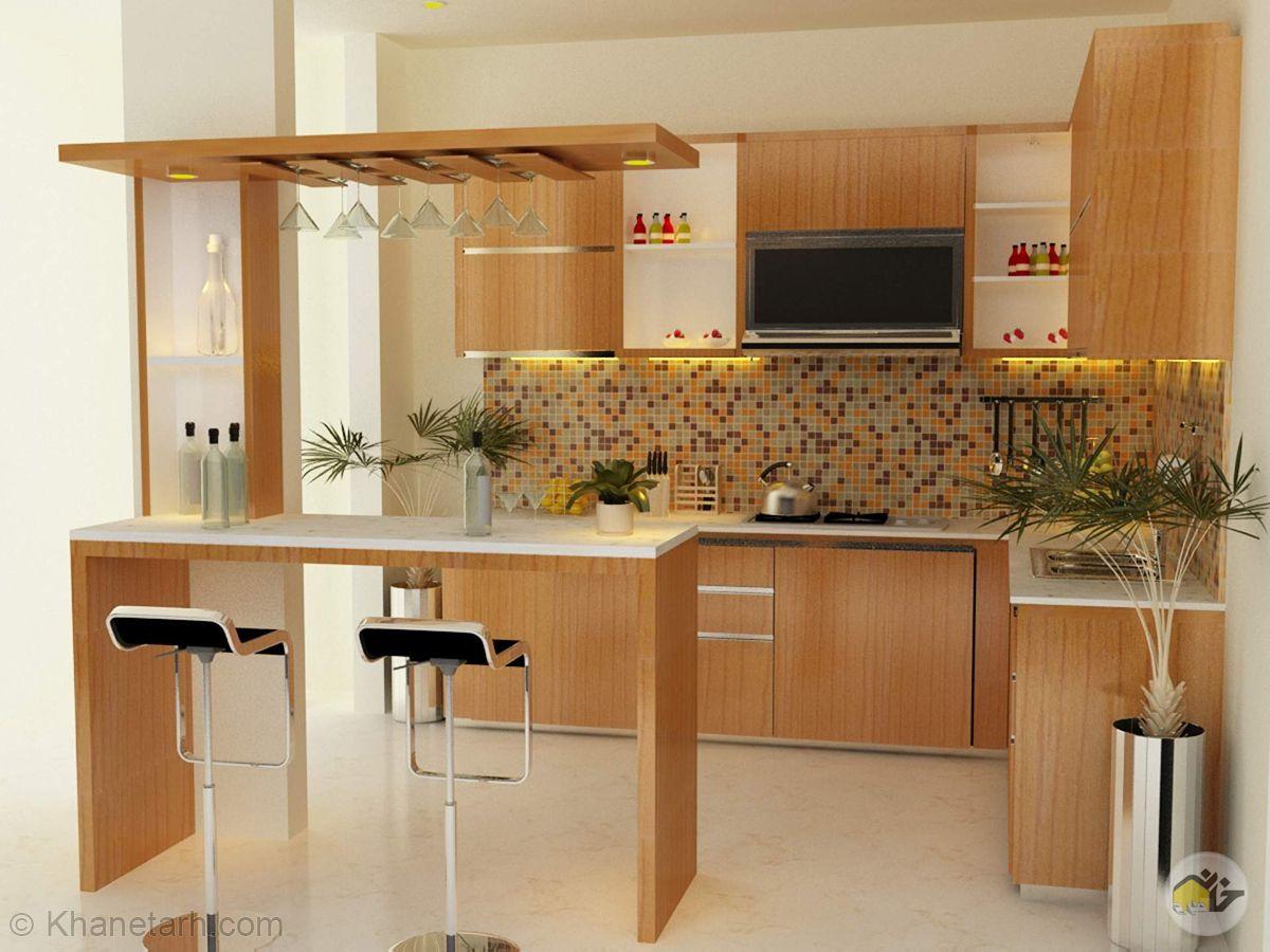 آشپزخانه کوچک ایرانی