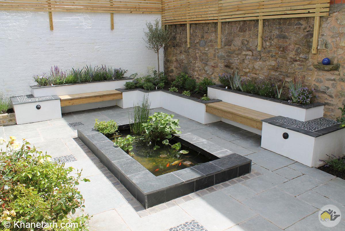 محوطه سازی حیاط خانه