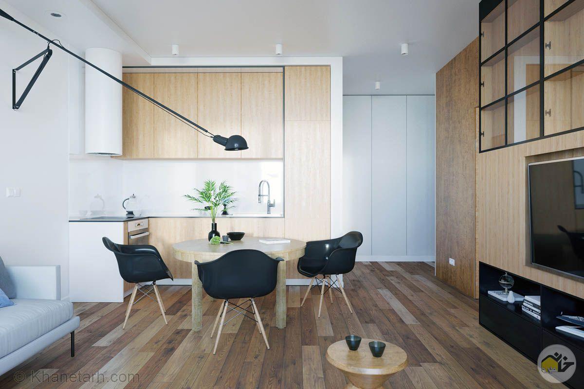 دکوراسیون آشپزخانه های کوچک آپارتمانی