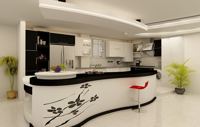 مدل کابینت آشپزخانه کوچک ایرانی