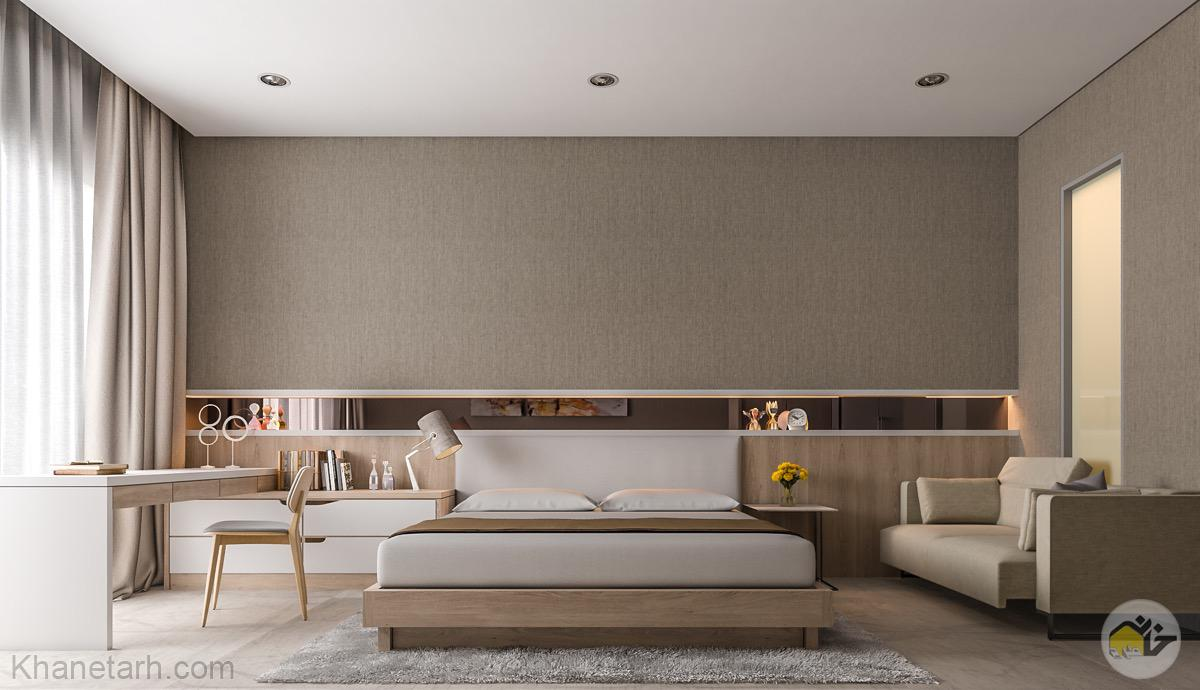 اتاق خواب مدرن