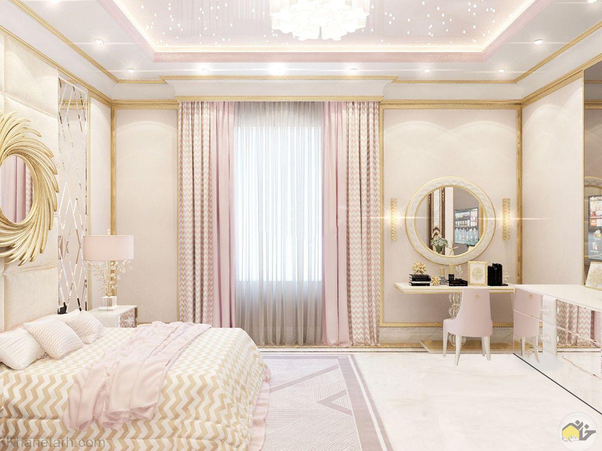 مدل اتاق خواب دخترانه