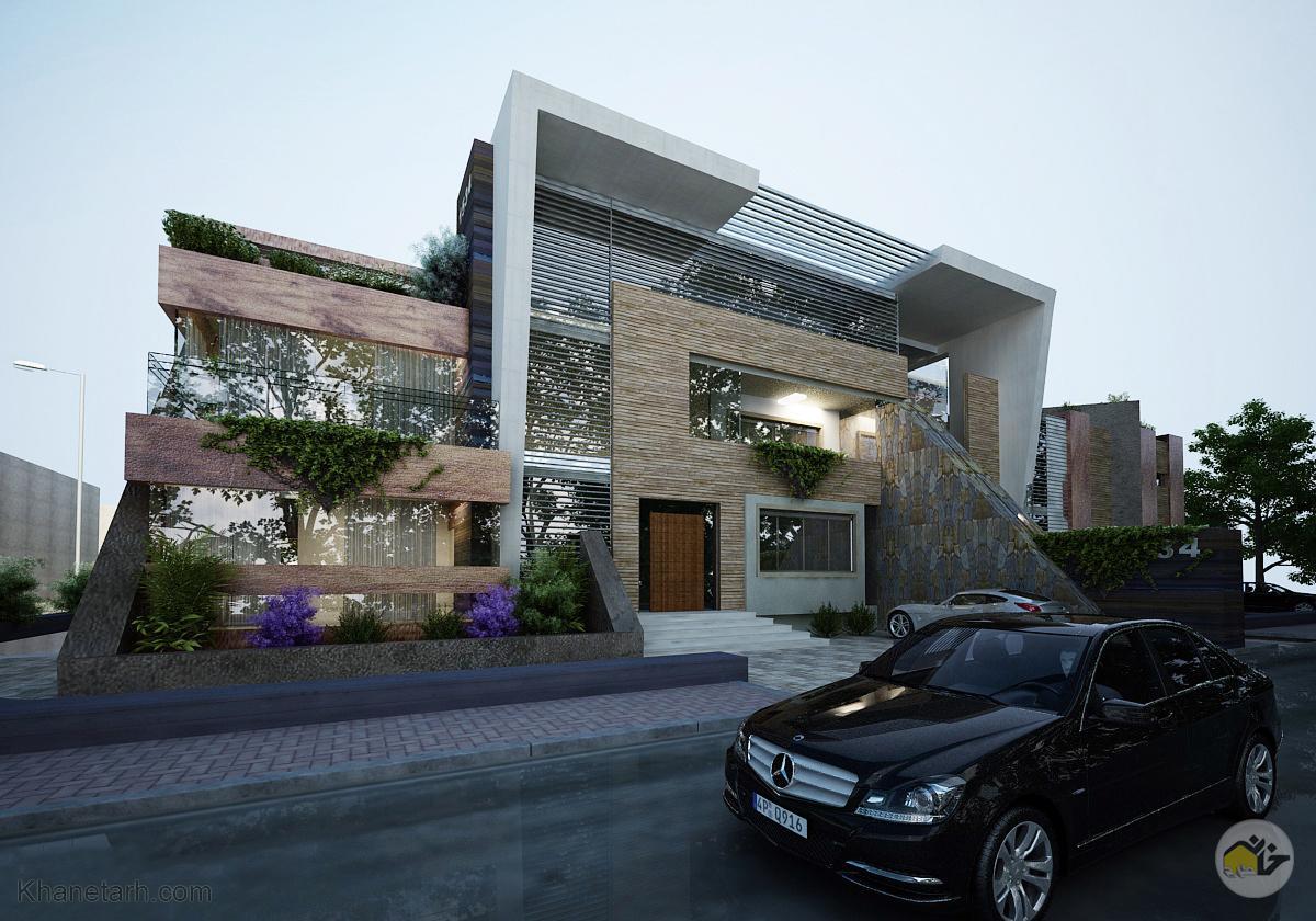 عکس نمای بیرونی ساختمان
