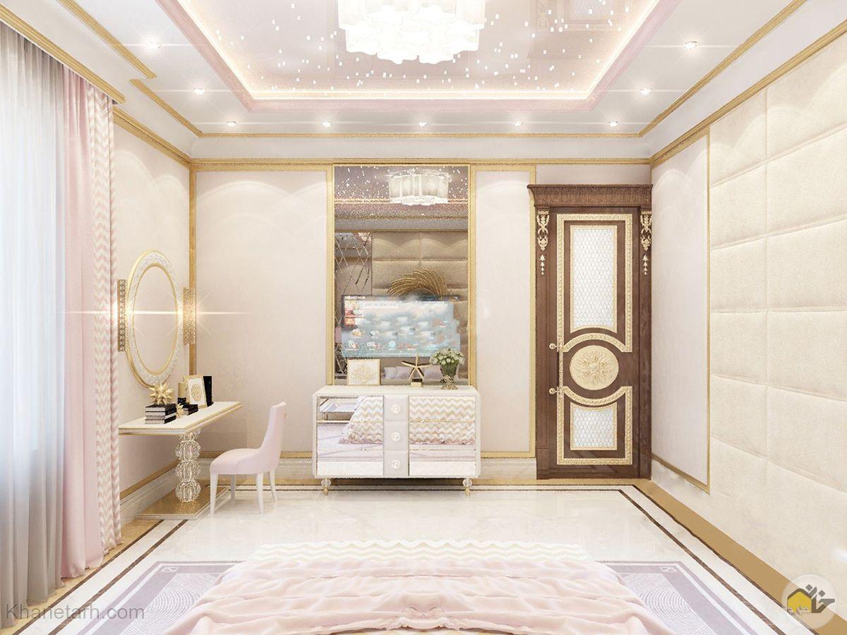اتاق خواب جوان دخترانه