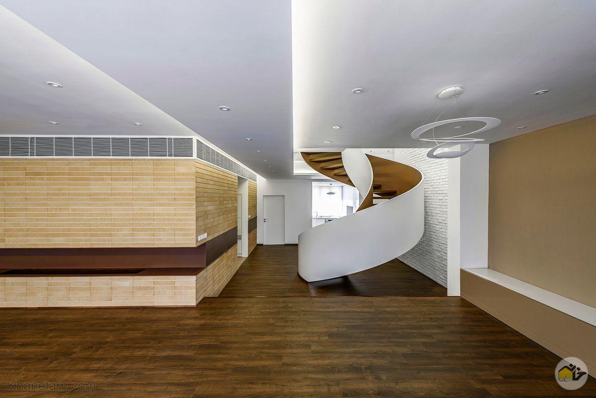 نمای داخلی ساختمان