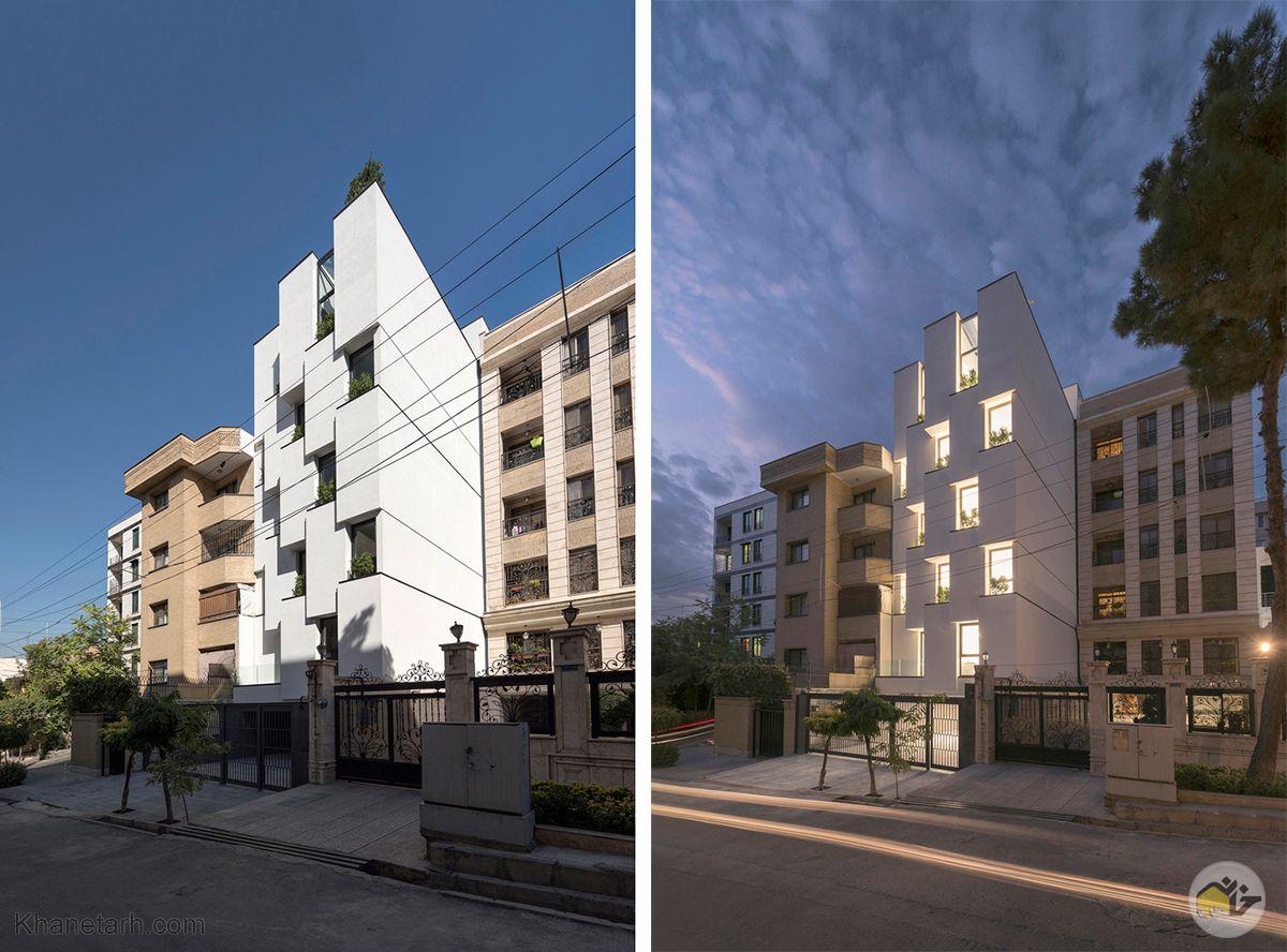طراحی ساختمان اداری