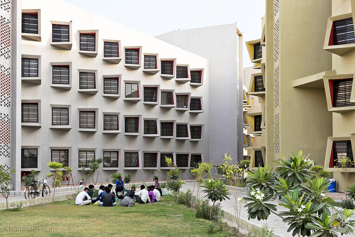 معماری خوابگاه دانشجویی