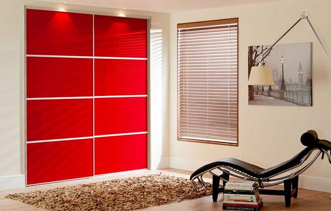مدل کمد دیواری اتاق خواب مدرن