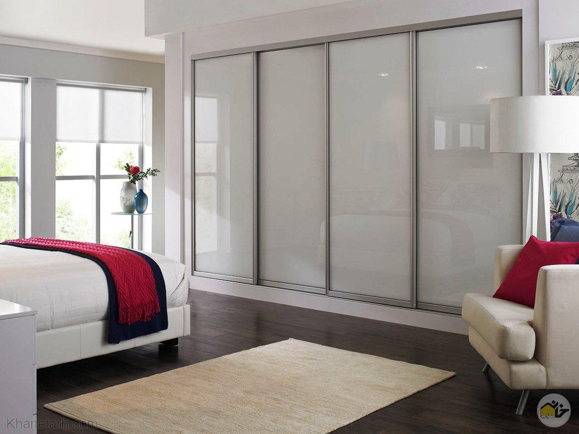 طرح کمد دیواری اتاق خواب