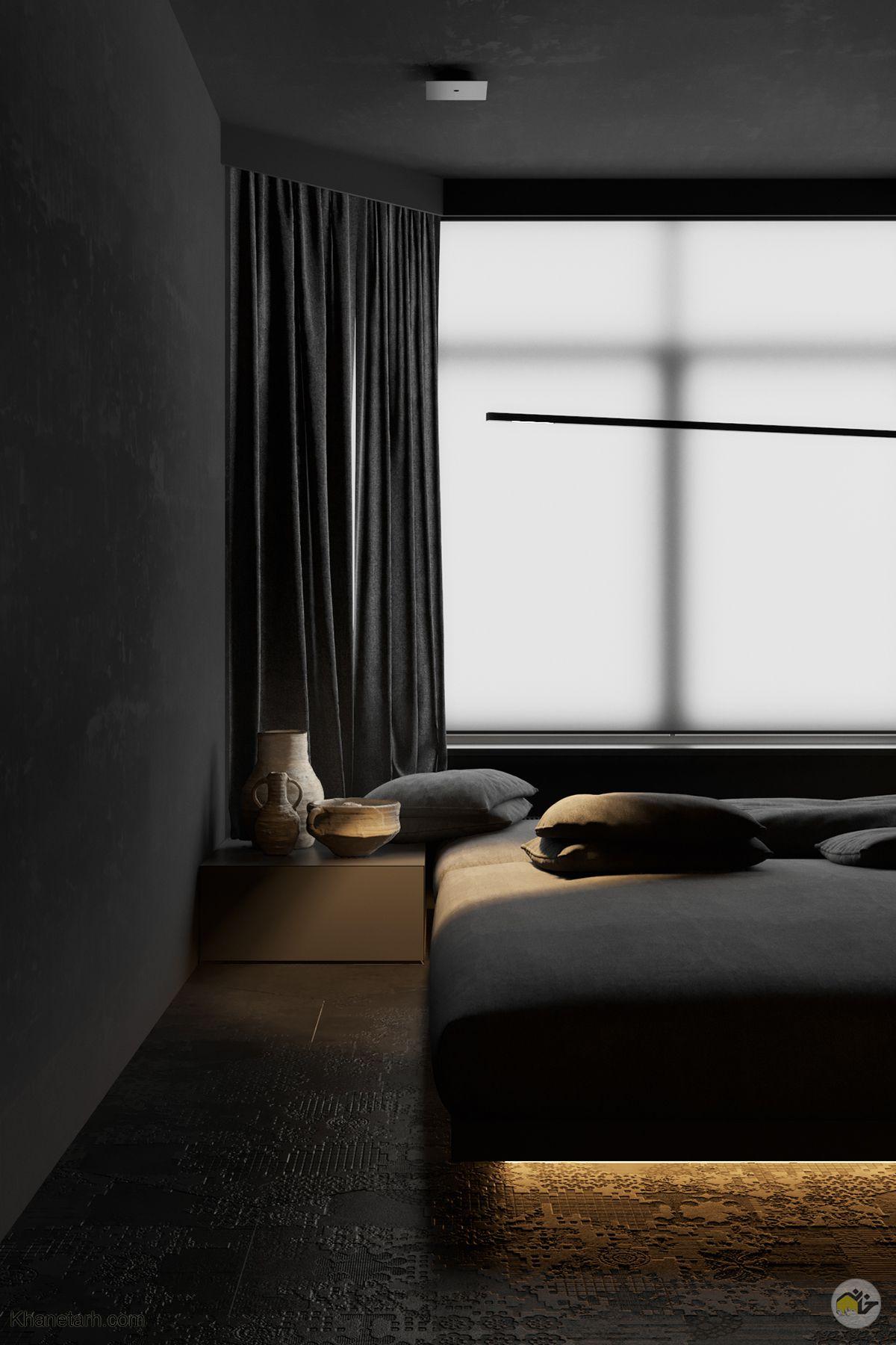 اتاق خواب مشکی