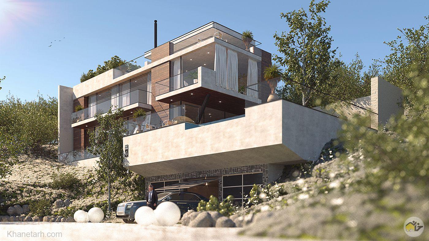 نمای خانه دوبلکس
