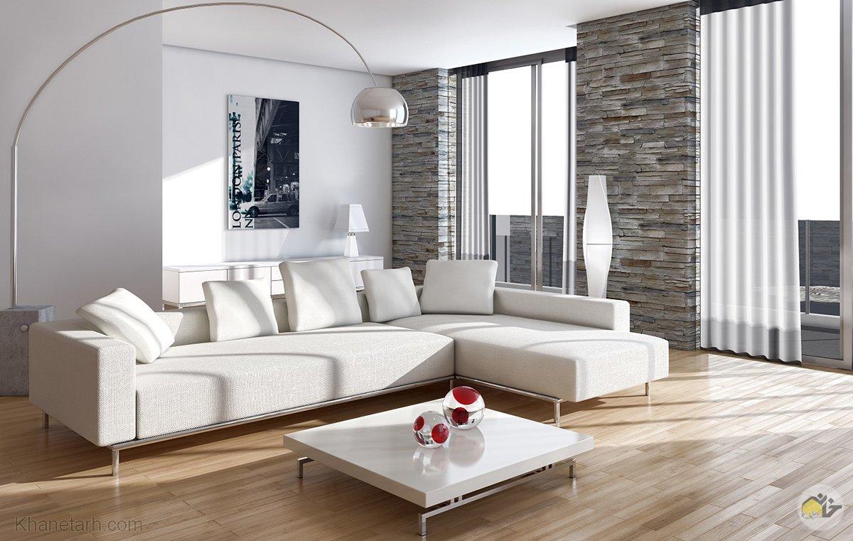 طراحی سالن پذیرایی منزل