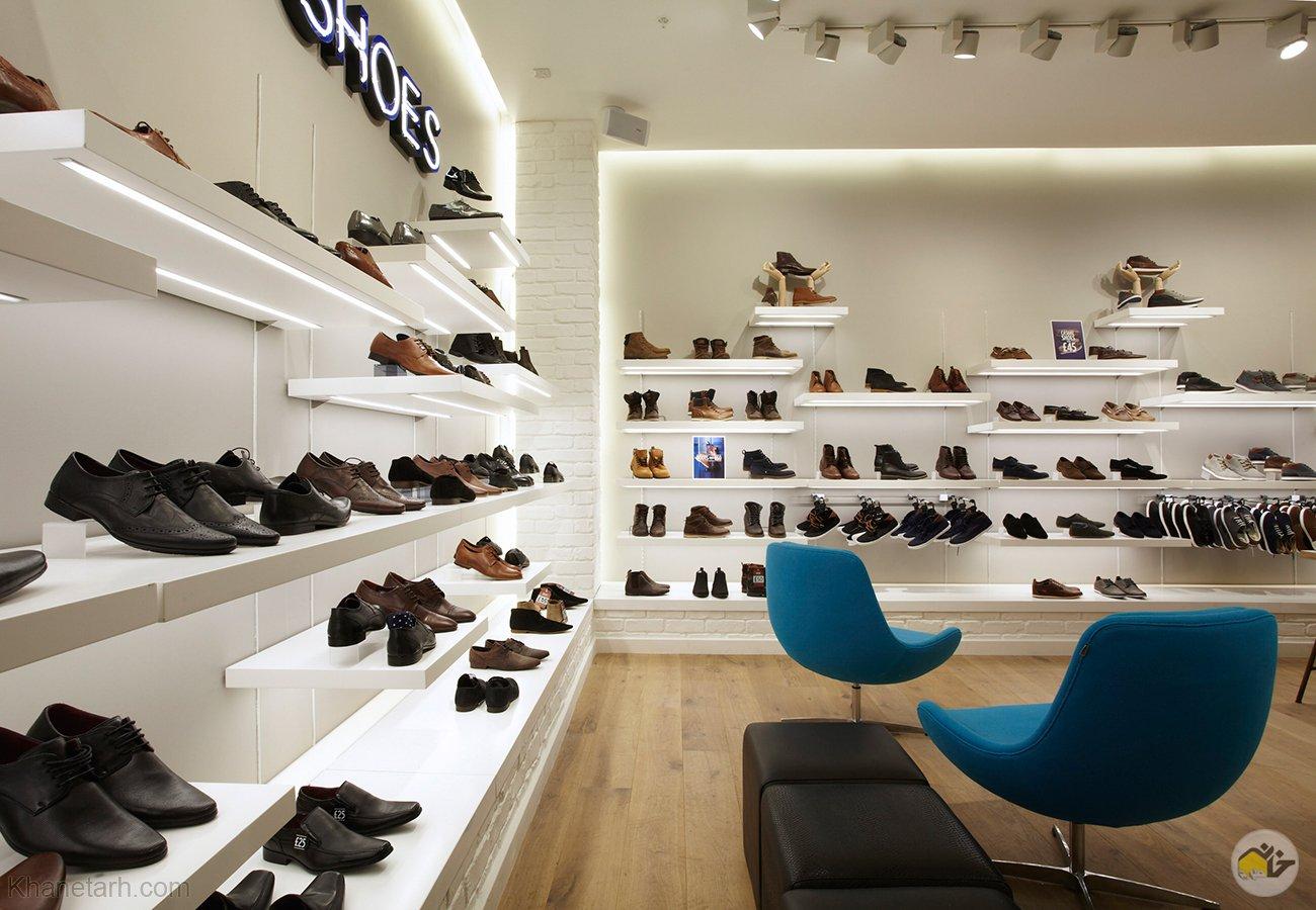 ویترین کفش مردانه