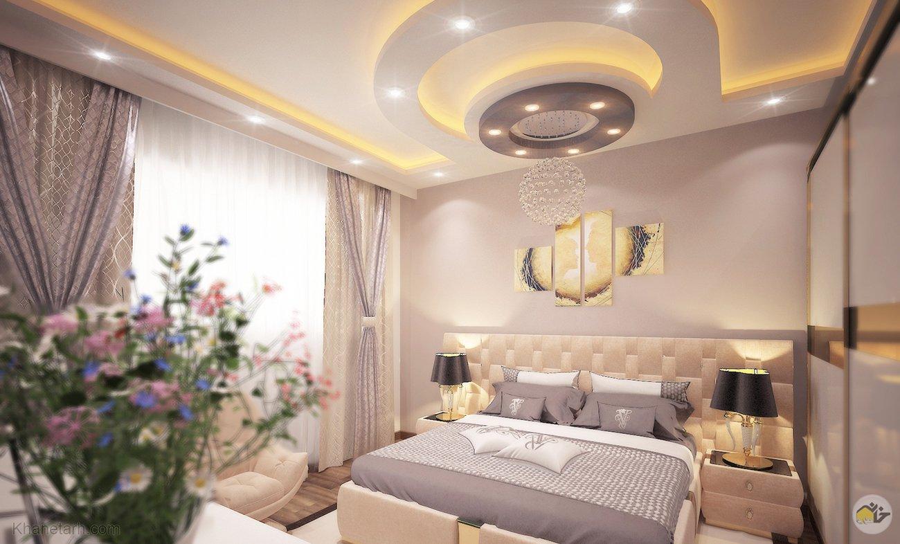 مدل سقف اتاق خواب