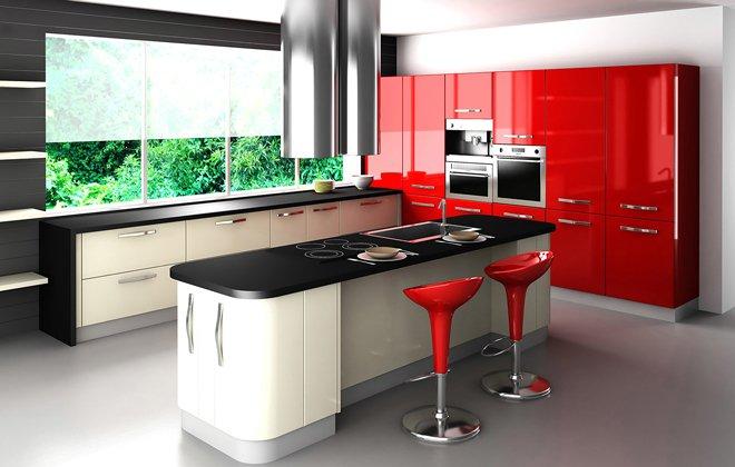 کابینت آشپزخانه مدل جدید