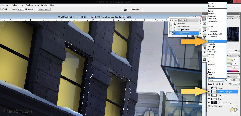 آموزش فتوشاپ در معماری