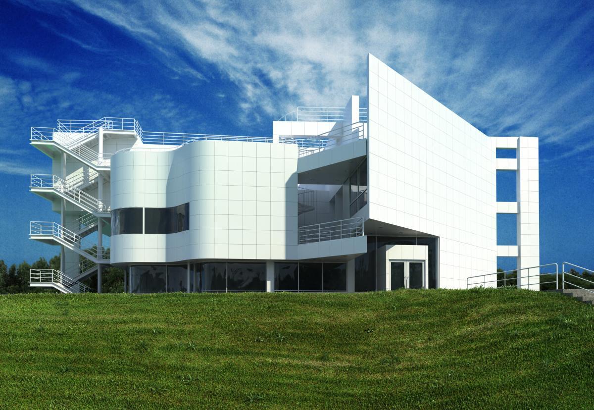 تری دی مکس در معماری