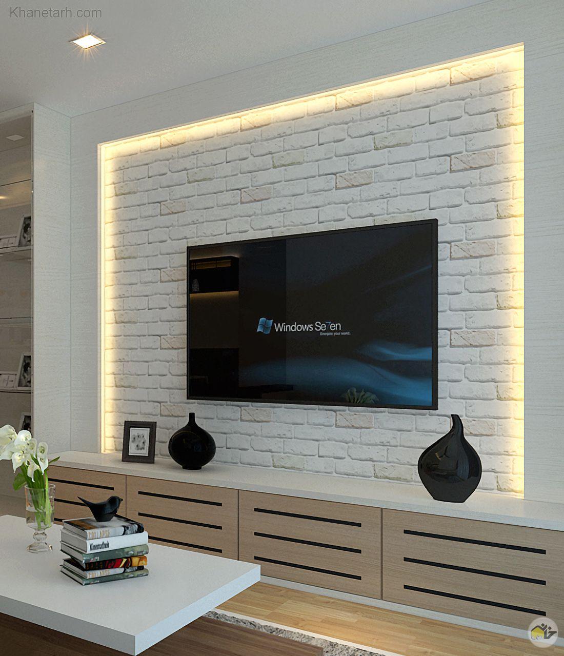 دکوراسیون تلویزیون دیواری