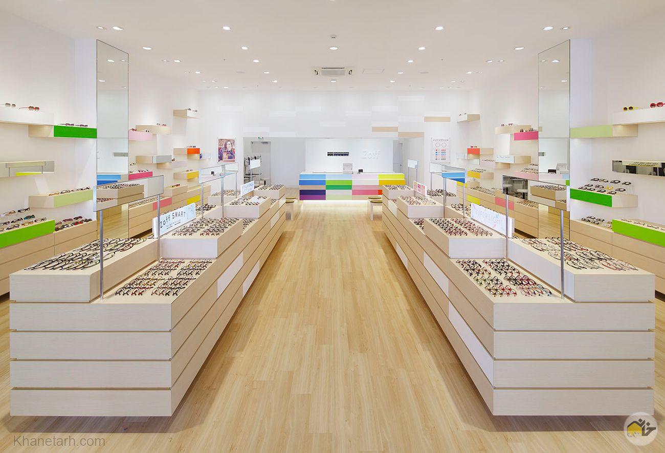 طراحی دکور مغازه