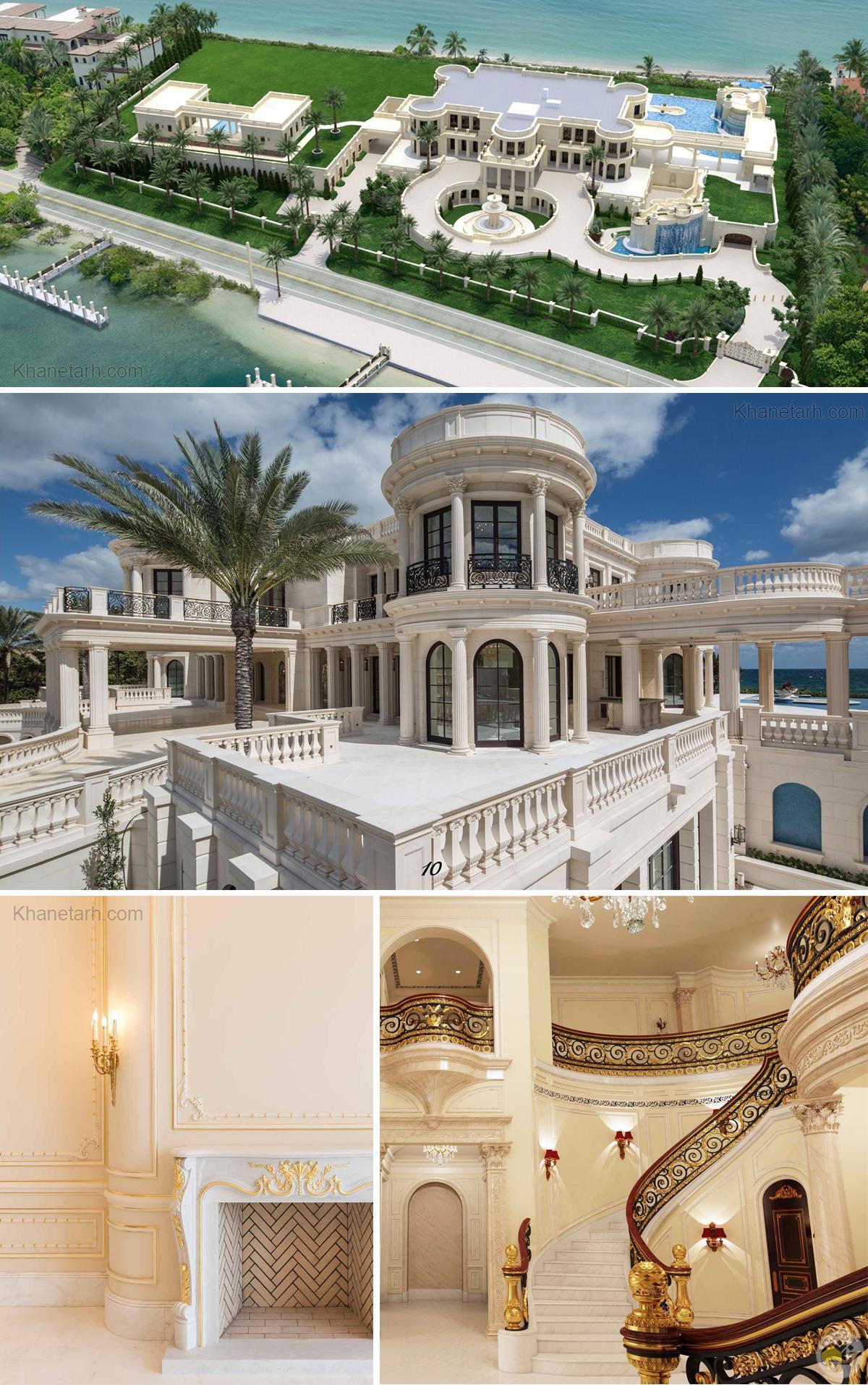 زیباترین خانه های جهان