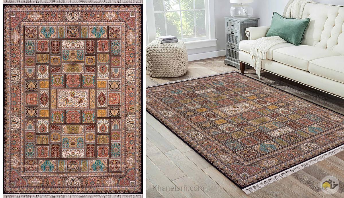 نقش فرش های ایرانی