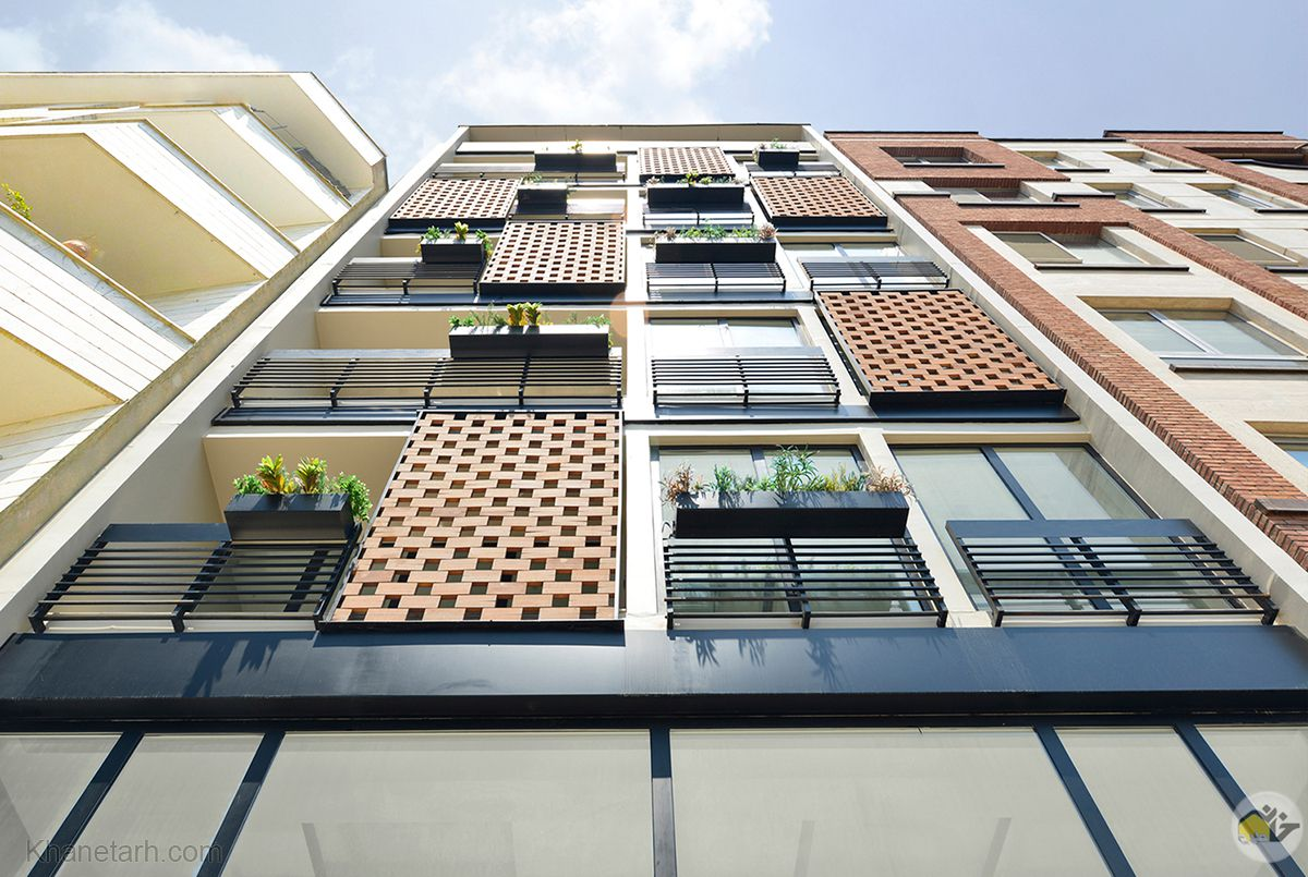 نمای ساختمان مدرن