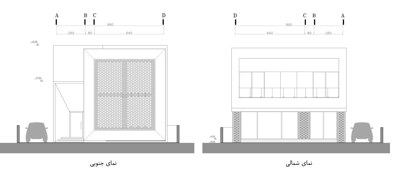 نقشه ساختمان ویلایی