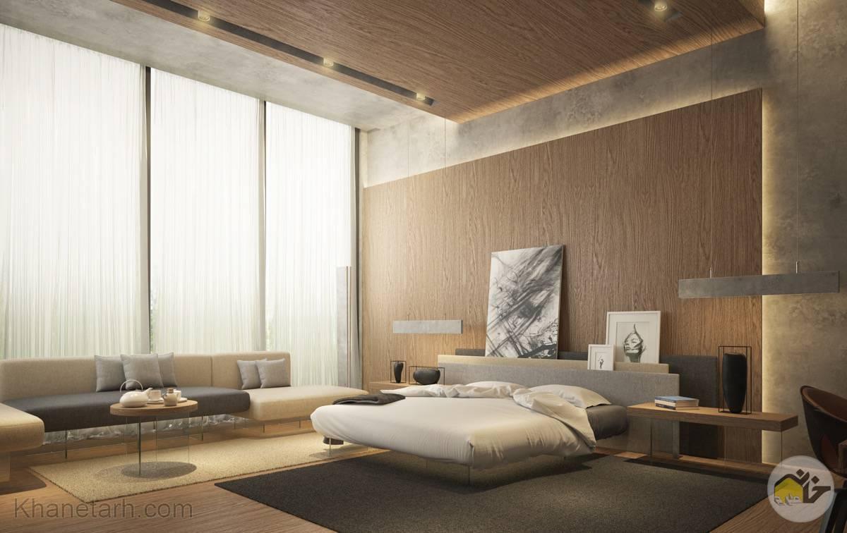 طراحي اتاق خواب مستر